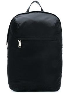 top zipped backpack Prada
