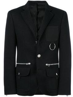 пиджак с металлической отделкой Givenchy