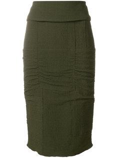 юбка-карандаш с панельным дизайном Tom Ford