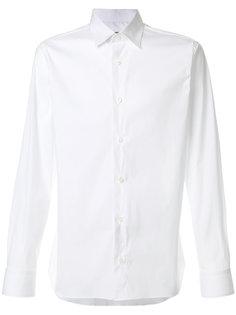 поплиновая рубашка Z Zegna