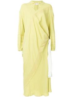 платье с контрастными панелями  Marni