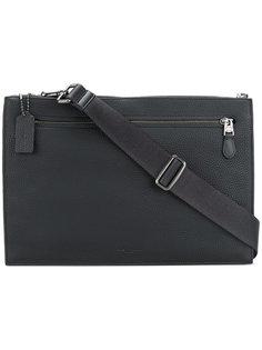 сумка-почтальонка Manhattan  Coach