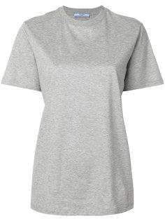 классическая футболка  Prada
