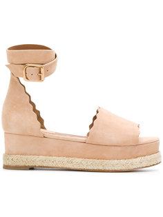 сандалии Lauren Chloé