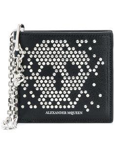 бумажник Studded Skull Chain Alexander McQueen