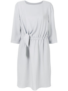 платье с эластичной талией Emporio Armani