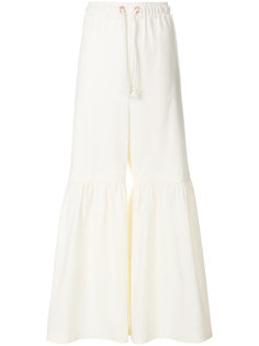 flared drawstring trousers See By Chloé