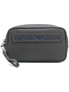 косметичка с логотипом Emporio Armani