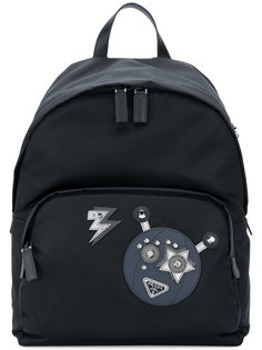 robot backpack Prada