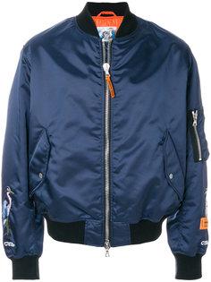 укороченная куртка-бомбер Heron Preston