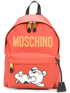 рюкзак с принтом собаки Moschino