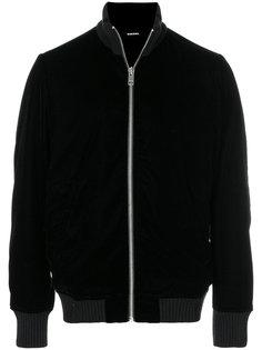 бархатная куртка-бомбер  Diesel