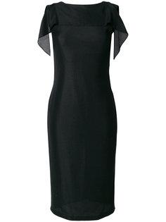 приталенное платье с драпировкой  Tom Ford