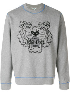 embroidered tiger sweatshirt Kenzo