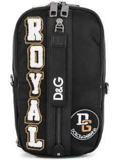 Royal appliqué shoulder bag Dolce & Gabbana