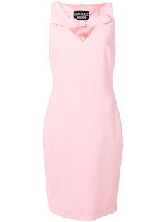 приталенное платье с бантом  Boutique Moschino