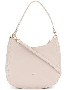 округлая сумка на плечо  Furla