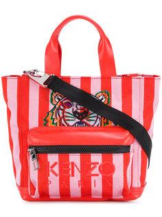 полосатая сумка-тоут Tiger Kenzo