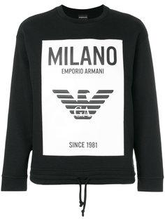 printed sweatshirt Emporio Armani