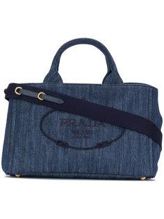 джинсовая сумка-тоут Prada