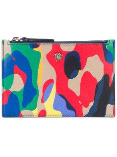 бумажник на молнии Utiliflage  Versace