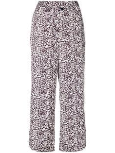 брюки с цветочным принтом Parish Christian Wijnants