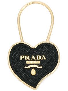брелок в форме сердца Prada