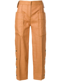 укороченные брюки карго  Victoria Victoria Beckham