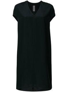 платье с V-образным вырезом  Rick Owens