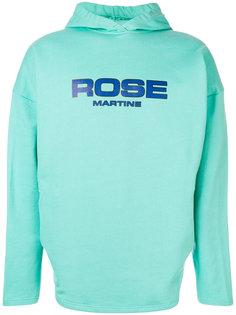 толстовка с капюшоном и принтом логотипа Martine Rose