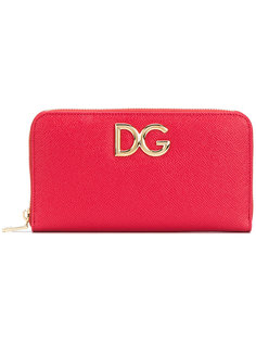 кошелек на молнии с логотипом Dolce & Gabbana