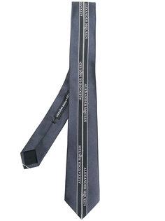 галстук с логотипом Alexander McQueen