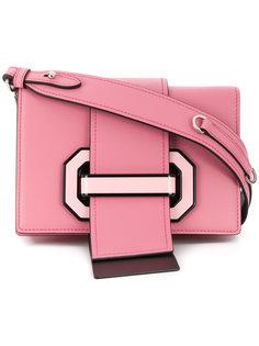 strap closure shoulder bag Prada
