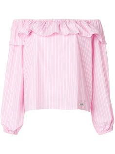блузка с открытыми плечами Miu Miu