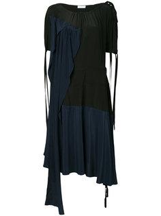 платье колор блок  JW Anderson