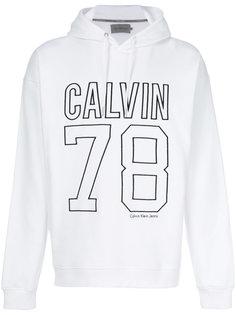 толстовка с вышитым логотипом  Calvin Klein Jeans