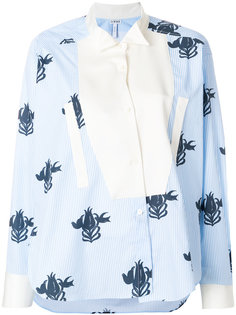 блузка с цветочным принтом  Loewe