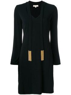 платье с V-образным вырезом Michael Michael Kors
