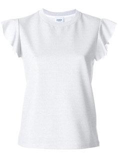 футболка с рюшами  Dondup