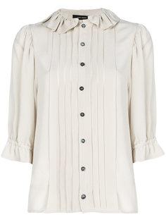 плиссированная рубашка на пуговицах Isabel Marant