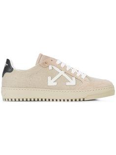 кроссовки с логотипом Off-White