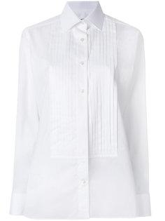рубашка с плиссировкой Tom Ford