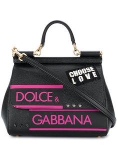маленькая сумка на плечо Sicily Dolce & Gabbana