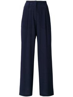 расклешенные классические брюки  Odeeh