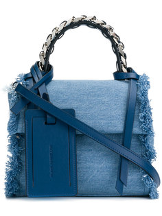 джинсовая сумка через плечо Elena Ghisellini
