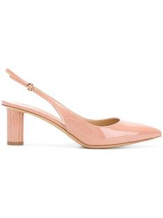 туфли с ремешком на пятке Flower Heel  Salvatore Ferragamo