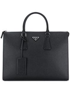 классический портфель  Prada