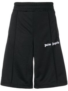 спортивные шорты с полосками по бокам Palm Angels