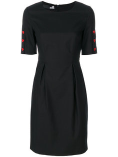 cinched waist dress Love Moschino