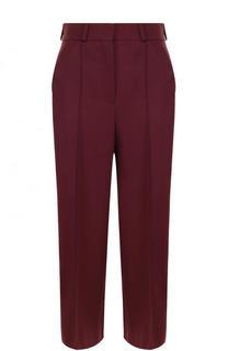 Укороченные однотонные брюки с карманами и стрелками Racil